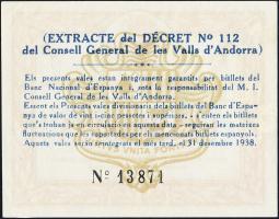 Andorra P.06 1 Pesseta 1936 (1)