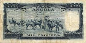 Angola P.098 1000 Escudos 1970 (3-)