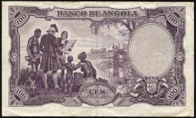 Angola P.085 100 Angolares 1951 (3)