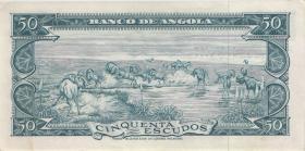 Angola P.093 50 Escudos 1962 (1/1-)