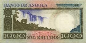 Angola P.108 1000 Escudos 1973 (1-)