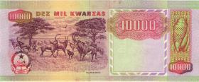 Angola P.131 10.000 Kwanzas 1991 (1-)