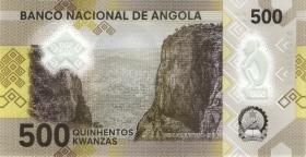 Angola P.Neu 500 Kwanzas 2020 Polymer (1)