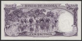 Angola P.089s1 100 Escudos 1956 (1)