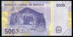 Angola P.164 5000 Kwanzas 2020 Polymer (1)