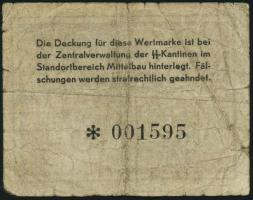 KZ Arbeitslager Mittelbau -.50 RM (4-)
