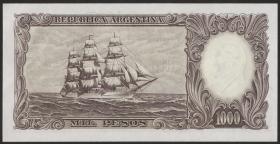 Argentinien / Argentina P.279b 1000 Pesos (1966-69) (1)