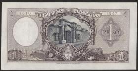 Argentinien / Argentina P.260b 1 Peso (1952-55) (1)