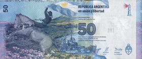Argentinien / Argentina P.362 50 Pesos 2015 (1)