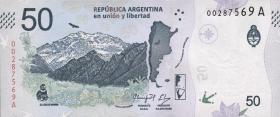 Argentinien / Argentina P.neu 50 Peso (2018) (1)