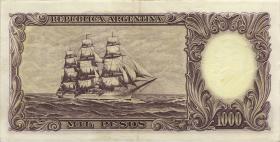 Argentinien / Argentina P.273 1000 Pesos (1955-65) (2)
