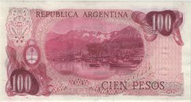 Argentinien / Argentina P.297 100 Pesos (1973-76) (2)