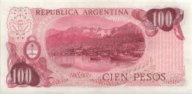 Argentinien / Argentina P.302a 100 Pesos (1976-78) (1)