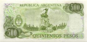 Argentinien / Argentina P.303c 500 Pesos (1977-82) (1)