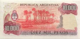 Argentinien / Argentina P.306b 10000 Pesos (1976-83) (1)