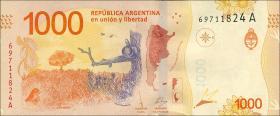 Argentinien / Argentina P.neu 1000 Pesos (2017) (1)