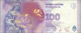 Argentinien / Argentina P.358c 100 Pesos (2017) Evita Peron (1)