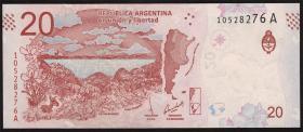 Argentinien / Argentina P.neu 20 Pesos (2017) (1)