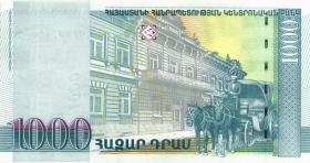 Armenien / Armenia P.50a 1000 Dram 2001 (1)