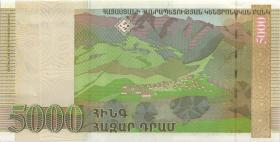 Armenien / Armenia P.51b 5000 Dram 2009 (1)