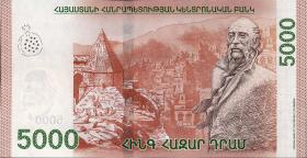 Armenien / Armenia P.neu 5000 Dram 2018 Polymer (1)