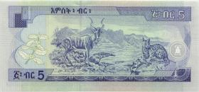 Äthiopien / Ethiopia P.47b 5 Birr 2000 (1)