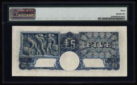 Australien / Australia P.23 5 Dollars (1933-39) (3+)