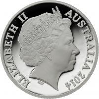 Australien Silber-Unze 2014 Känguruh PP