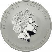 Australien Silber-Unze 2015 Jahr der Ziege