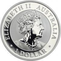 Australien Silber-Unze 2021 Kookaburra
