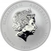 Australien Silber-Unze 2018 Jahr des Hundes