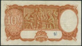 Australien / Australia P.25a 10 Shillings (1939) (3+)