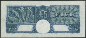 Australien / Australia P.27b 5 Pounds (1949) George VI (3+)