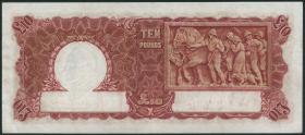 Australien / Australia P.28a 10 Pounds (1942) (3+)