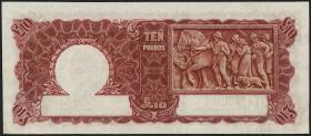 Australien / Australia P.28c 10 Pounds (1949) (3)