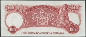 Australien / Australia P.32a 10 Pounds (1954-1959) (2/1)