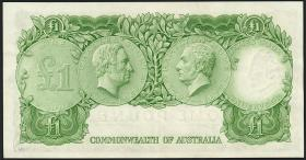 Australien / Australia P.34a 1 Pound (1961-65) (1)