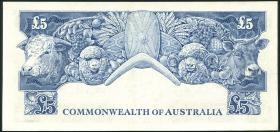 Australien / Australia P.35a 5 Pound (1960-65) (2/1)