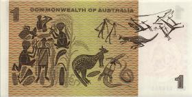 Australien / Australia P.37d 1 Dollar (1972) (1)