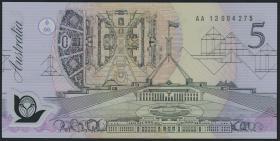 Australien / Australia P.50a 5 Dollars 7 July 1992 Polymer (1)