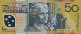 Australien / Australia P.60c 50 Dollars 2005 Polymer (1)
