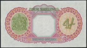 Bahamas P.09e 4 Shillings L. 1936 (2)