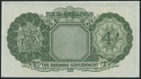 Bahamas P.13d 4 Shillings (1953) (1)