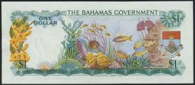 Bahamas P.18a 1 Dollar 1965 (1)