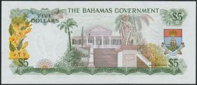 Bahamas P.20a 5 Dollars 1965 (1)