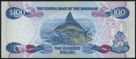 Bahamas P.56 100 Dollars 1974 (1992) (1/1-)
