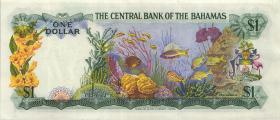 Bahamas P.35a 1 Dollar 1974 (2)