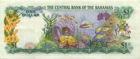 Bahamas P.35b 1 Dollar 1979 (3+)