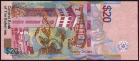 Bahamas P.80 20 Dollars 2018 (1)
