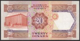 Bahrain P.11a 20 Dinars (1973) (1/1-)
